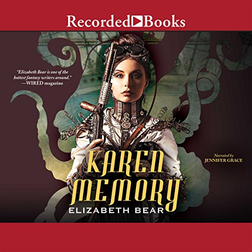 Karen Memory audiobook cover art