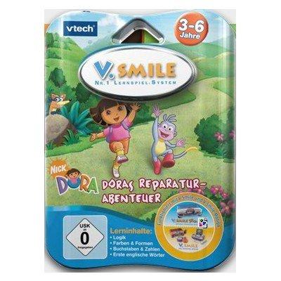 VTech V. Smile Motion 80-084024 Dora - Videojuego educativo, Dora la exploradora (de 3 a 6 años) [importado de Alemania]
