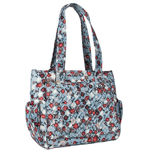 Lug Women's Cabby Rfid Shopper Tote, Blossom Blue, One Size
