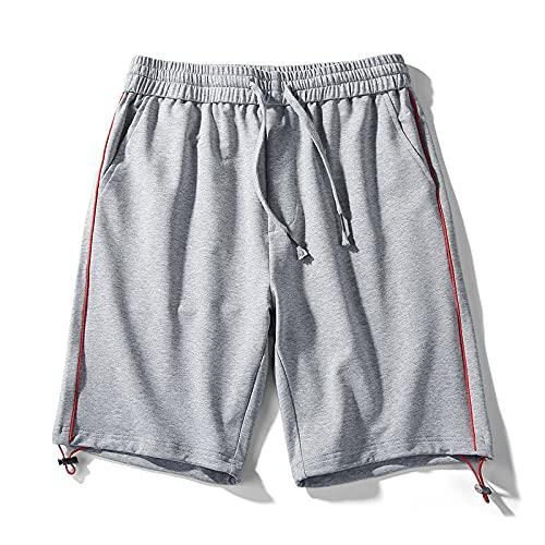 Pantalones Cortos Deportivos Informales para Hombre, Pantalones de Cinco Puntos de Entrenamiento de Baloncesto Finos, cómodos y Transpirables, de Tendencia para Todos los Partidos 4XL