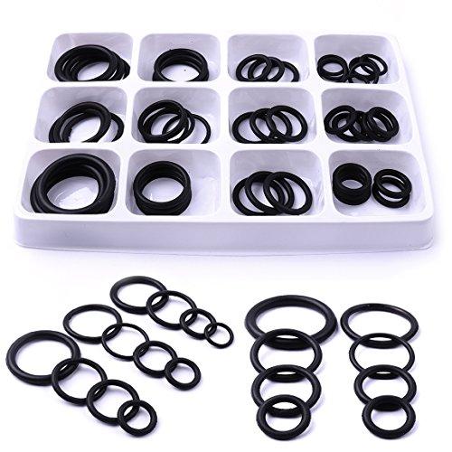 Cheerbright 50PC o anello di gomma set assortimento kit per tubature idraulico pneumatico Tool set