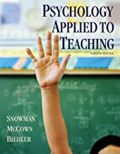 psychology applied to teaching 12th edition