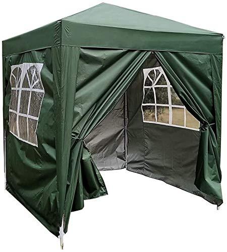 PIANUO Camping pavilion/2x2m tent waterproof pavilion folding garden tent,Green