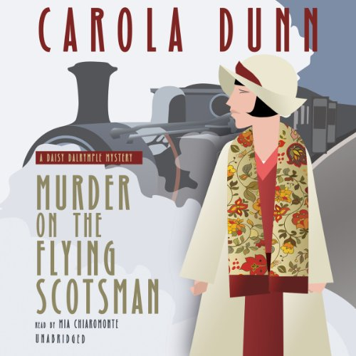 Murder on the Flying Scotsman audiobook cover art