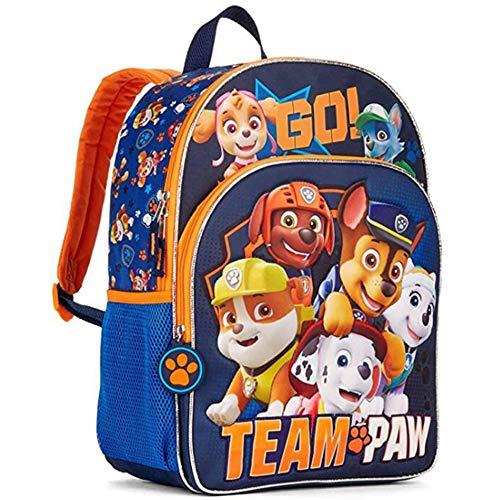 Paw Patrol Kinderrucksack - WENTS Paw Patrol Rucksack Kinderrucksack mit Taschen Chase Marshall Rubble für Jungen Rucksack Mädchen Rucksack