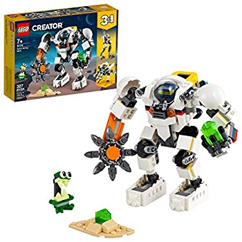LEGO Creator 3in1 Space Mining Mech 31115 Building Kit Featuring a Mech Toy Robot Toy and Alien Figure  Makes The Best Toy for Kids Who Love Creative Fun New 2021  327 Pieces