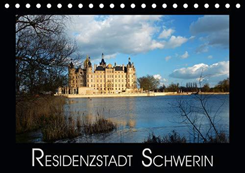 Residenzstadt Schwerin (Tischkalender 2021 DIN A5 quer)