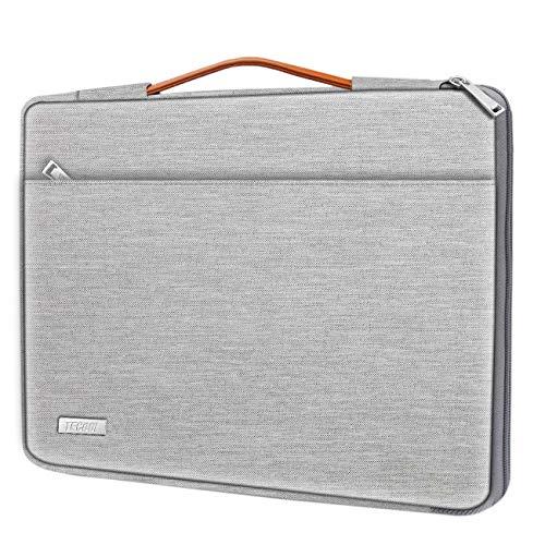 TECOOL Funda para Ordenador Portátil, Protector Maletín con Mango para PC Portátil Compatible 2016-2019 MacBook Pro 15, 14 Pulgadas Netbook...