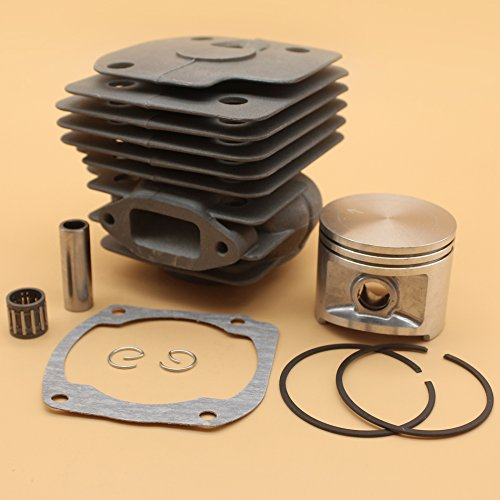 Nikasil vergoldet Zylinder Kolben Replica Kugellager, Dichtung 50mm Kit für Husqvarna 365371372XP 362Chainsaw 2Takt Motor Motor Teile