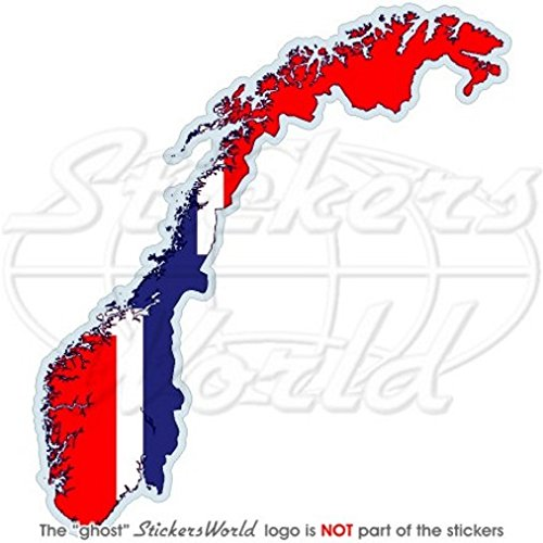 NOORWEGEN Noorse Kaart-vlag Kongeriket Norge, Noreg 4.7