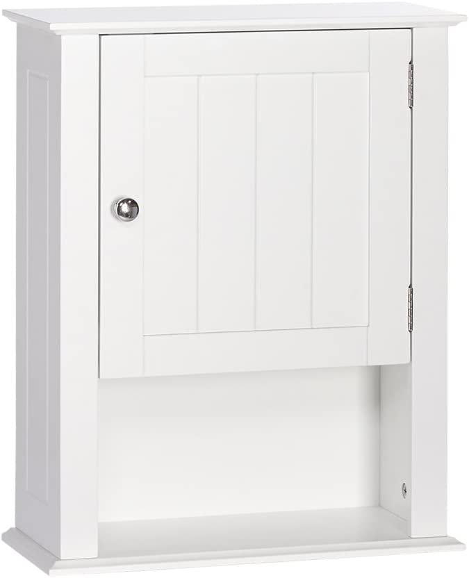 RiverRidge All items in the store Special Campaign Ashland Collection Single White Door Wall Cabinet