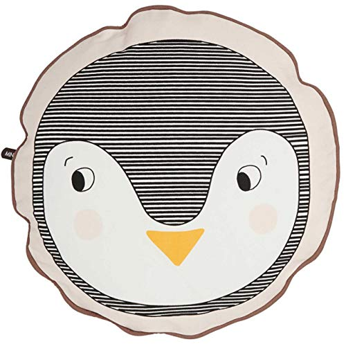 OYOY Kissen Pinguin rund