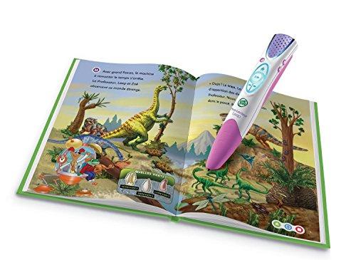 Leapfrog - 81490 - Jeu Educatif - Pack Complet Mon Lecteur Leap Violet + Livre D'Activités + Batterie Inclus