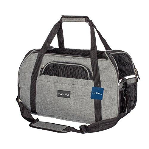 Fauna CARRIER-1001 Pet Travel Carrier Hund/Katze/Puppy-leicht zusammenklappbar Flugzeug Tasche...