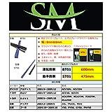 SM超撥水シリコンワイパー替えゴム 幅8mm(運転席) & 6mm(助手席) ダイハツ アルティス ACV30N ACV35N トヨタ カムリ ACV30 ACV35 RAV4 ACA20W ACA21W ZCA25W ZCA26W 日産 J31 TNJ31 PJ31 フーガ Y50 PY50 GY50 PNY50 ホンダ アスコットイノーバ CB3 CB4 CC4 CC5 インスパイア UA4 UA5 セイバー UA4 UA5 マツダ アクセラ スポーツ BL5FW BLEFW BLEAW BL3PW BL6FJ BLFFW BL3FW アクセラ セダン BL5FP BLEFP BLEAP BLFFP 光岡 GalueIII ガリューIII Y50 PY50 PNY50 用 600mm + 475mm 2本セット車用 ワイパー 純正ワイパー グラファイトワイパー エアロレインワイパー 鉄ワイパーブレード向け 交換用ワイパーゴム 車種専用セット BT01 & ST01 (黒)
