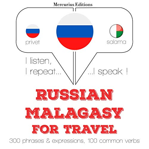 Russian - Malagasy. For travel cover art