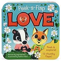 Love (Peek-A-Flap Interactive Children's Board Book)