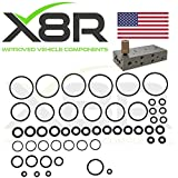 X8R EAS AIR SUSPENSION VALVE BLOCK VITON O-RINGS REPAIR FIX KIT COMPATIBLE WITH LAND ROVER P38 BETWEEN 1995-2002 PRODUCTION MODELS WITH EAS PART# X8R12