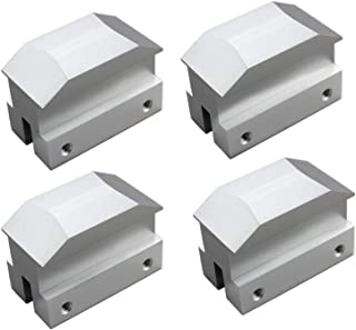Dewhel Lift pads Jack Pad Billet Anodized Silver Aluminum Floor Jack bolt on Jack Points For 6th gen Camaro 16-18,except convertable