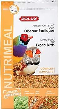 ZOLUX Aliment Oiseaux Exotiques NUTRIMEAL Standard 2,5KG