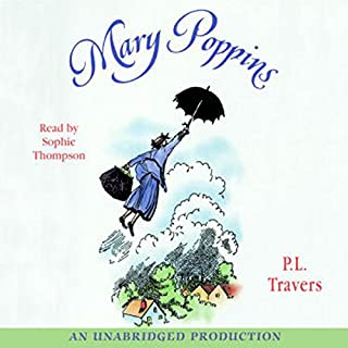 Mary Poppins audiobook cover art