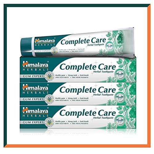 Himalaya Herbals Complete Care Herbal Gum Expert Toothpaste 75ml e - 100% Vegetarian & Free From Parabens (SAVER PACK - Pack of 3)