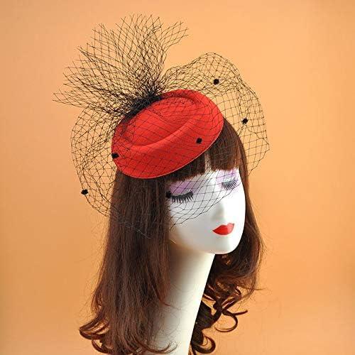 Wedding Bridal Max 57% OFF Hats Fascinators Headpiece discount Bridca Hat Party Black