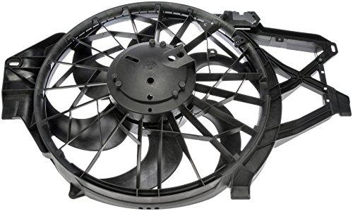 Dorman 620-138 Engine Cooling Fan Assembly for Select Ford Models, Black
