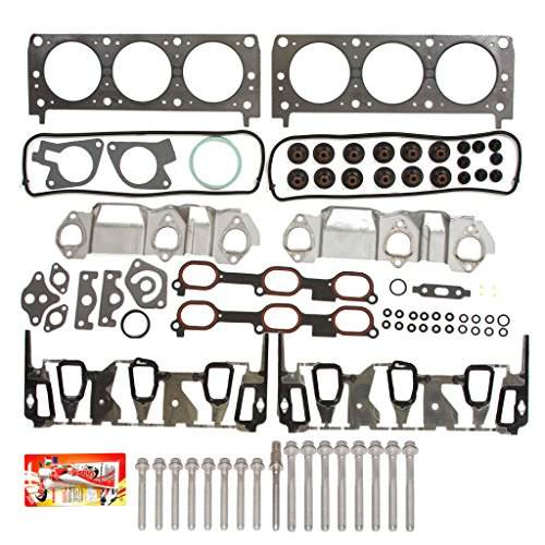 Fits 96-05 Chevrolet Pontiac Oldsmobile 3.1 & 3.4 Performance Head Gasket Set Head Bolts