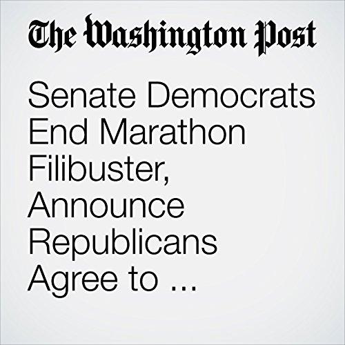 Senate Democrats End Marathon Filibuster, Announce Republicans Agree to Gun-Control Vote cover art