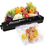 Vakuumierer - Kompakter Folienschweißgerät für Lebensmittel, Trocken- und Feuchtigkeitsmodi -...