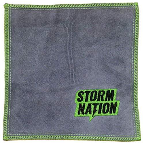 Storm stac901gr Bowling Handtuch, grün/grau,