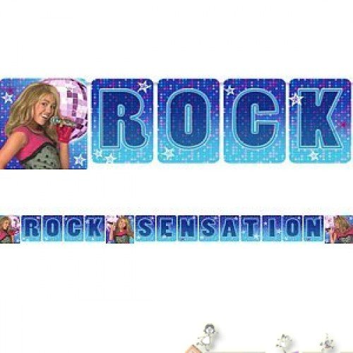 Hannah Montana Letter Banner 8ft
