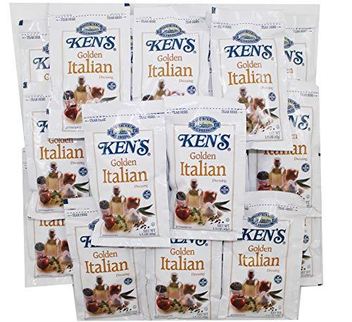Ken's Steakhouse Golden Italian Dressing 1.5 oz Packets (Pack of 20)
