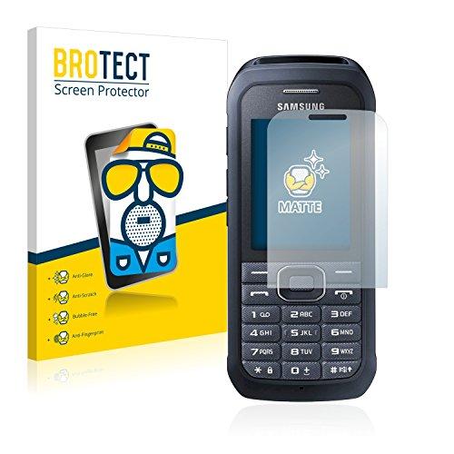 BROTECT 2X Entspiegelungs-Schutzfolie kompatibel mit Samsung Xcover 550 Bildschirmschutz-Folie Matt, Anti-Reflex, Anti-Fingerprint