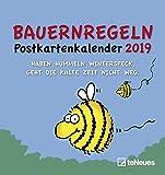 Bauernregeln 2019: Postkartenkalender Humor
