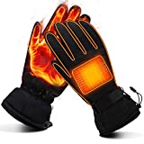 Heated Gloves for Men Women Electric Gloves Battery Heating Gloves...