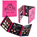 SHANY Beauty Book Makeup Kit – All in one Travel Makeup Set - 35 Colors Eye shadow, Eye brow, blushes, powder palette,10 Lip Colors, Eyeliner & Mirror - Holiday Makeup Gift Set