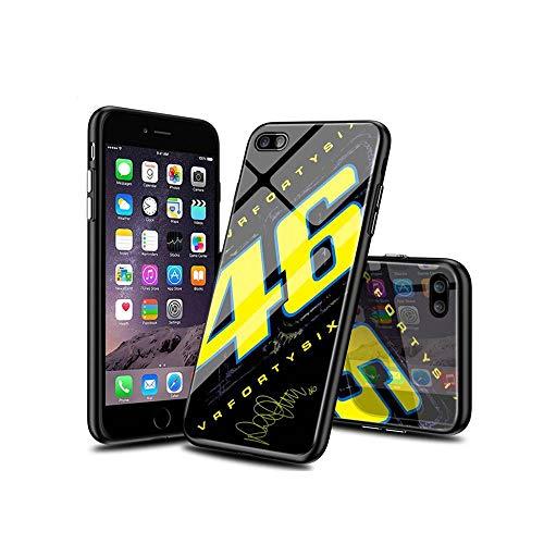 BaiGXCen Compatible con iPhone 8 Plus Funda, iPhone 7 Plus Funda, Parte Trasera de Cristal Templado + Funda Protectora de TPU de Silicona Suave para iPhone 8 Plus/iPhone 7 Plus #B006