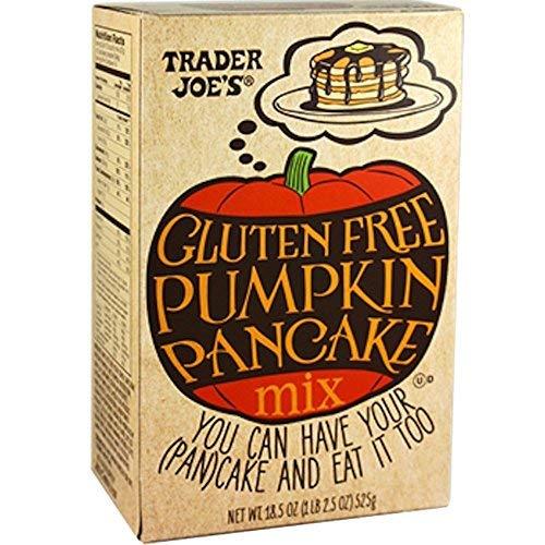 Trader Joes Gluten Free Pumpkin Pancake Mix - 525g., 18.5oz.-SET OF 2
