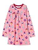Hatley Mädchen Long Sleeve Nighties Nachthemd, Pink (Dancing Cupcakes 650), 4 Jahre