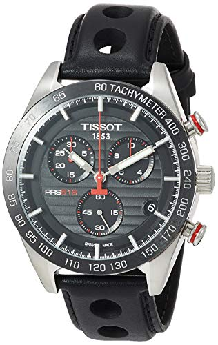 Tissot Men's PRS 516 Chrono Stainless Steel Casual Watch Black T1004171605100