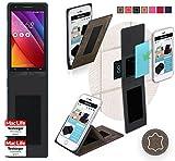 Hülle für Asus Zenfone Go 5.0 LTE Tasche Cover Case Bumper | Braun Wildleder | Testsieger