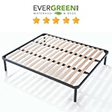 <span class='highlight'>EVERGREENWEB</span> - Bed Base King Size 5ftx6ft6 size 150x200 cm APPLE with strong Iron Frame and Beech Wood Slats Orthopedic Slatted Bed Frame FULLY ASSEMBLED   4 Legs, for all <span class='highlight'>Beds</span> Mattresses and Pillows
