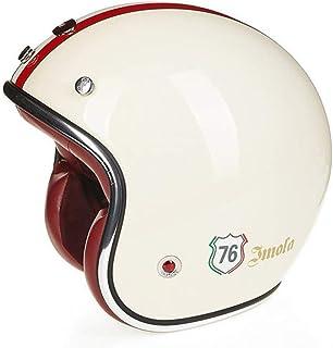Comprar casco moto VINTAGE con bandera Italia