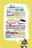 Close Up Kinderzimmer-Regeln Poster Premium Kinder-Plakat