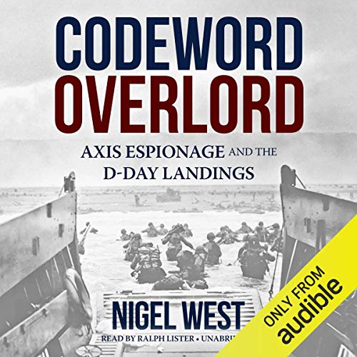 Codeword Overlord audiobook cover art