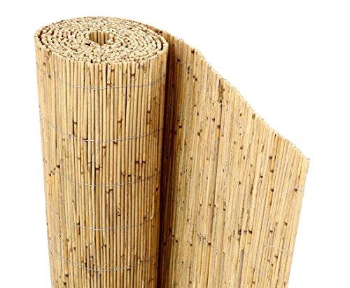 bambus-discount.com Schilfrohrmatte Premium, 160 x 300cm Sichtschutzmatte Schilfmatten