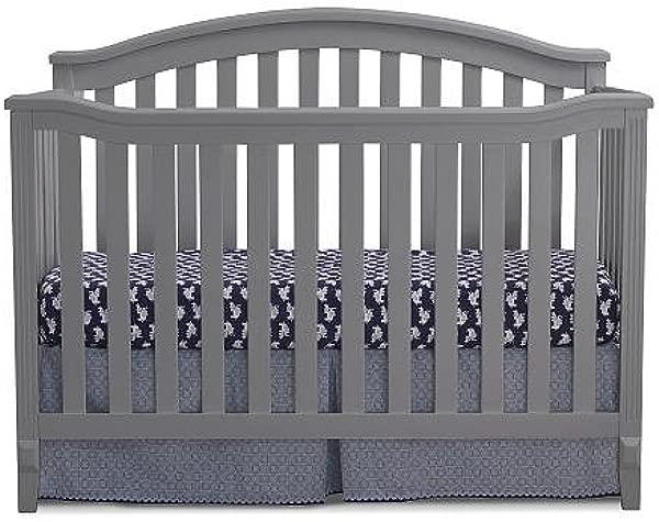 Sorelle Berkley 4 In 1 Convertible Crib Gray