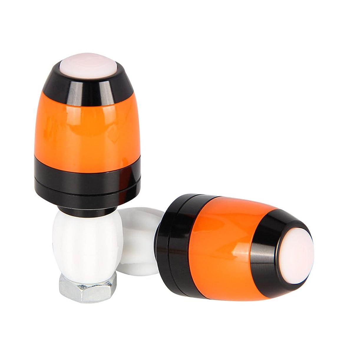 1 Pair Multifunctional Magnet Bike Bicycle Handlebar Bar End Plug LED Light Warning Indicator